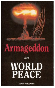 booklet-Armageddon Then World Peace
