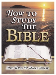 booklet-How to Stud The Bible