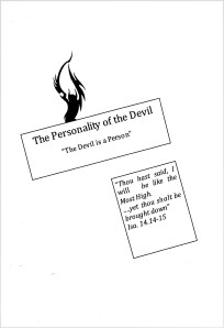 booklet-The Personality of The Devil