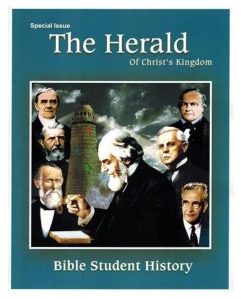 Special History Issue - Bible Student Beliefs