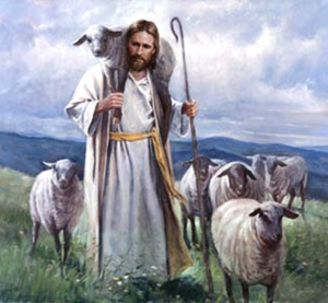 Jesus is our good shepherd.